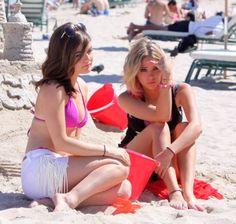 Pretty Little Liars Lucy Hale and Ashley Benson go Bongo in Miami Beach, Florida