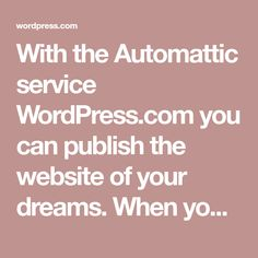 With the Automattic service WordPress.com you can publish the website of your dreams. When you do, you'll agree to these fascinating terms of service. Good Playlists, Housewife Photos, Paypal Hacks, Outdoor Tub, Knots Guide, Girls Phone Numbers, Women Seeking Men, Wedding Album Design, Diy Crafts For Home Decor