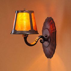 The Mica Lamp Company Mica Wall Lamp Sconce ML122, Sconces, Mission Lighting