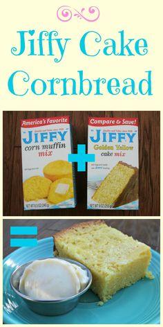 Jiffy Cake Cornbread, Sweet and Moist. http://themagicalslowcooker.com/2013/08/11/jiffy-cake-cornbread/