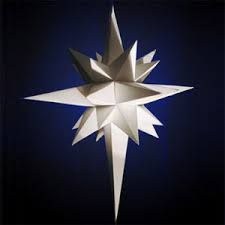 instructions for making giant paper star - Google Search