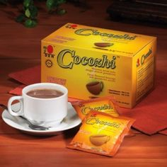 Cocozhi - Cocoa with Ganoderma mushroom http://www.dxnengland.com/products/ganoderma-coffee-products/