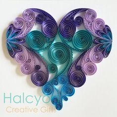quilling for kids Neli Quilling, Paper Quilling Cards, Paper Quilling Patterns, Origami And Quilling, Quilled Paper Art, Quilling Paper Craft, Paper Crafts Wedding, Wrapping Paper Crafts, Craft Wedding