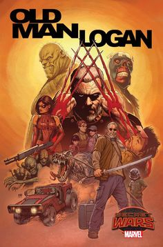 Old Man Logan #1 Variant Cover by Steve McNiven