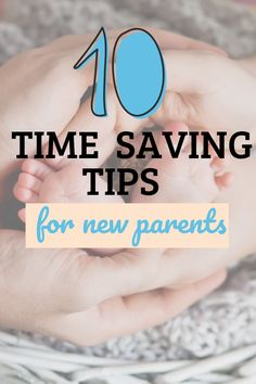 10 of the best tips and tricks to save some precious time when you have a new baby. Rock A Bye Baby, New Parents, Saving Tips, First Night, New Baby Products, Mirrored Sunglasses, Budgeting Tips, Money Saving Tips, Frugal Tips