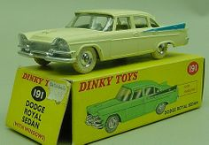 Dinky-Dodge. American cars were far more cooler than the British cars of the same era.