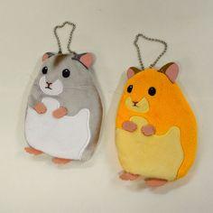 Hamster (Grey) Plush ; Zippered Small Pouch | eBay