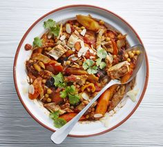 Freshen up Christmas leftovers of turkey, carrots and parsnips with ras el hanout in this sweet and spicy Moroccan stew