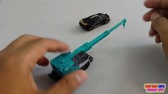 Tomica Toys Cars For Children | Kobelco vs Lotus Exige R-Gt | Kid's Toys Videos HD Collection