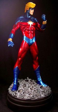 Captain Marvel Bowen Designs