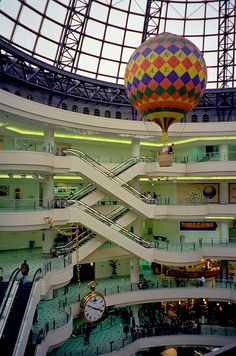 The Melbourne Central Dome and Hot Air Balloon Places In Melbourne, Melbourne Central, Melbourne Australia, Melbourne Victoria, Victoria Australia, Victorian History, Tower Stand, Egypt Art, Luxor Egypt