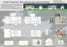 Residential Architecture, Floor Plans, Projects, Floor Plan Drawing