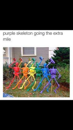 I am that skeleton on a profound level.