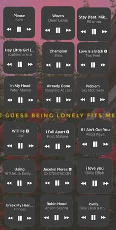 - Insta - - Famous Last Words Best Song Ever, Best Songs, Listening To Music Quotes, Christmas Music Songs, Musik Wallpaper, Hey Little Girl, Depressing Songs, Sleeping At Last, Breakup Songs