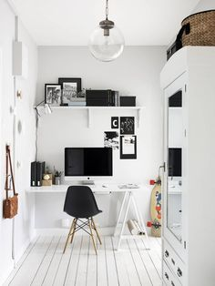 Accente rustice într-un apartament din Suedia