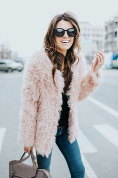 Cute Pink Coat by Hello Fashion Blog
