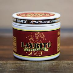 Layrite Super Shine Pomade | Layrite Deluxe Pomade