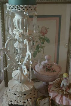 cherished*vintage: My Love Of Lamp Parts