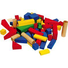 Imaginația nu cunoaște limite cu acestă jucărie educativă din lemn! Setul conține cărămizi de diferite forme și mărimi, viu colorate, gata să devină diverse obiecte sau clădiri.  #woodentoys #jucariieducative #kidsplay #jucariidinlemn #woodencubes #jucariionline #creative