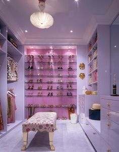 A walk in closet is a must have.