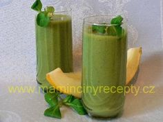 Melounové smoothie s polníčkem