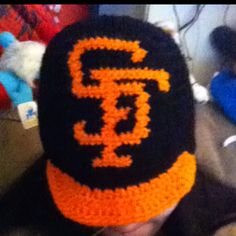 $20 My giants crochet helmet. Also for 5 bucks more I can make you a beard as a separate piece.