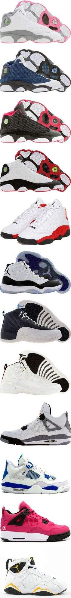 """Air Jordan's"" by yomo-bribri ❤ liked on Polyvore"