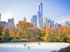 Best ice-skating in NYC from Central Park to Rockefeller Center