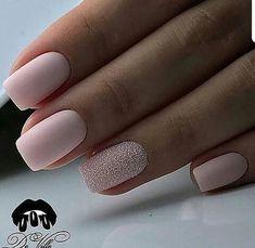 Stylish Nails, Trendy Nails, Sophisticated Nails, Cute Acrylic Nails, Cute Nails, My Nails, Matte Nail Art, Prom Nails, Sugar Nails