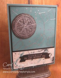 Stampin' Up!, Going Global, Going Places Designer Paper, Wink of Stella, DIY masculine birthday cards. More info on my blog!