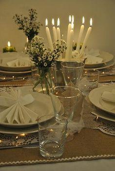 Shabby Soul:Christmas table... finally!!!