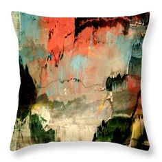 Cavern Throw Pillow by Elizabeth Cope May. Multi sizes available at  ElizabethCopeMay.com