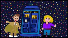 "My piece of artwork called ""My favourite doctor who"""