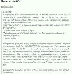 Humans Are Weird/Space Australia Curiosity