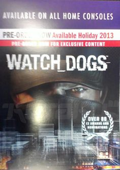 "Watch Dogs launching on ""all home consoles"" in holiday 2013"