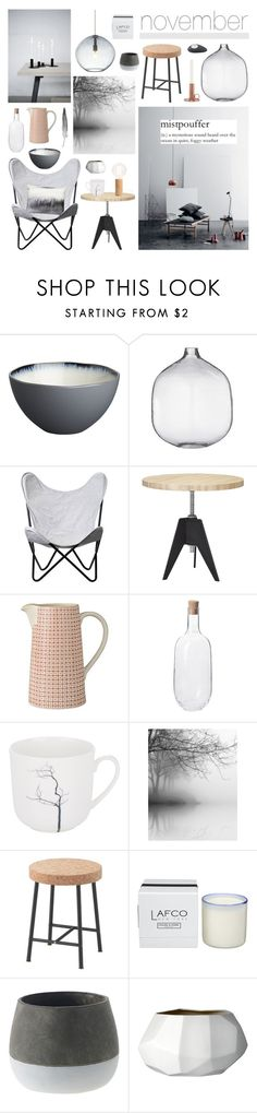 """""""November Mists"""" by ladomna ❤ liked on Polyvore featuring interior, interiors, interior design, home, home decor, interior decorating, CB2, House Doctor, Bloomingville and Tom Dixon"""