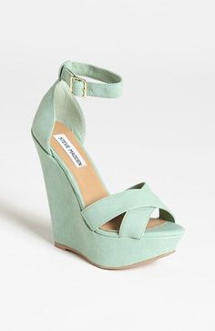 Gorgeous Mint Wedges