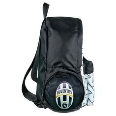 Serie A Juventus FC Collapsible Soccer Ball Backpack
