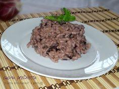 Il risotto al radicchio rosso è un primo piatto molto invitante. Quando ho detto ai miei figli che stavo cucinando il risotto al radicchio rosso non hanno..
