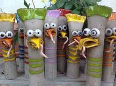 - Hobbies paining body for kids and adult Garden Totems, Garden Art, Ceramic Bowls, Ceramic Art, Beginner Pottery, Keramik Design, Pottery Animals, Clay Art Projects, Hand Built Pottery