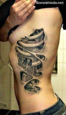 60 Mejores Imágenes De Tatuaje En La Costilla Tatoos Beautiful