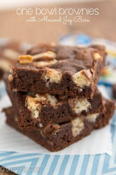 One Bowl Candy Bar Brownies (3 of 4)w