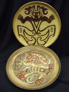 Aztec.Serbian symbols