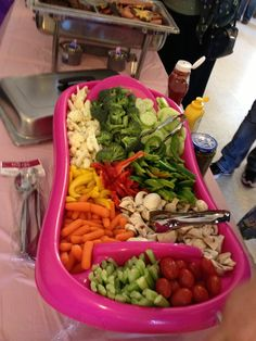 Perfect Baby Shower: Baby Bathtub Veggie Tray