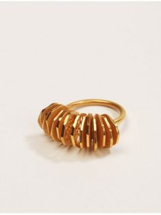 Filipa Oliveira Jewellery Design Singular Gold Ring: 18ct gold: £131.00