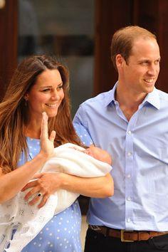 Royal couple & baby