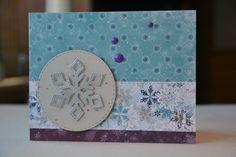 Simon Says Stamp January card kit, card 6