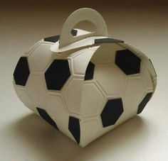 Curvy Keepsake Box Football