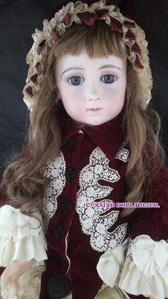 トリスト(ロングフェイス)16号レアサイズ - 懐古どぉるMicico|和洋アンティークドール専門店。人形好きなオーナーがお届けする、日本人形、西洋人形のアンティークドールショップ