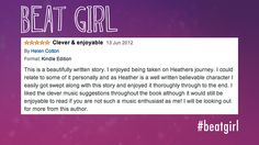 Clever & Enjoyable Review on #amazon #beatgirl #fivestars #5stars #book #novel